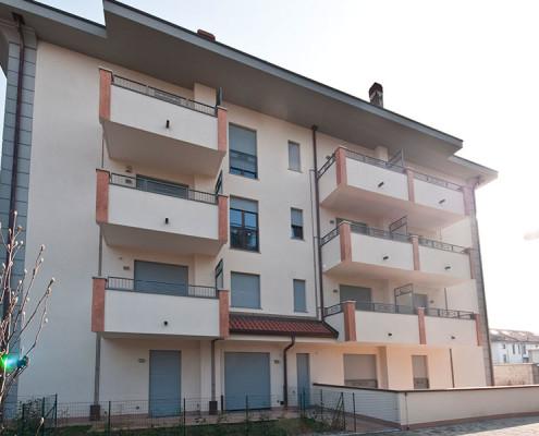 Monaci Costruzioni Srl, Condominio Bandiera a San Giorgio (MI)