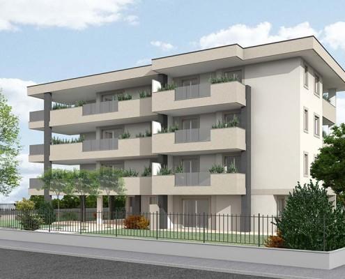 Monaci Costruzioni Srl, Immobiliare Chiaretta in via Santa Caterina a Legnano (MI)