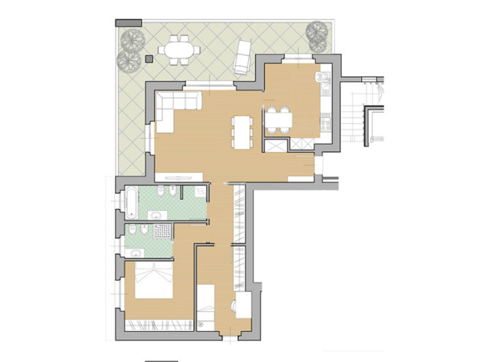 Appartamento 6 - Trilocale Secondo Piano - Residenza Zaroli