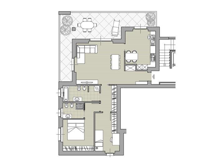 Monaci Costruzioni - Residenza Zaroli - Appartamento 3