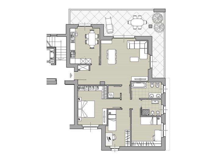 Monaci Costruzioni - Residenza Zaroli - Appartamento 4