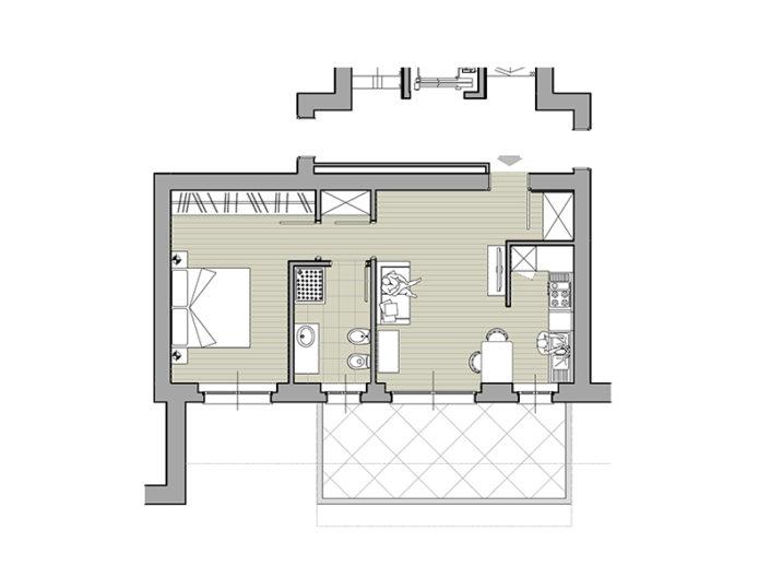 Monaci Costruzioni - Residenza Zaroli - Appartamento 5