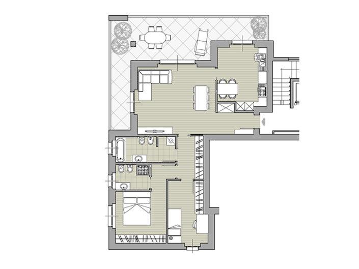 Monaci Costruzioni - Residenza Zaroli - Appartamento 6