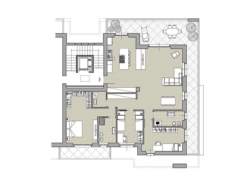 Monaci Costruzioni - Residenza Zaroli - Appartamento 7